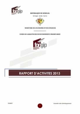 'ACTIVITES 2013 - VF